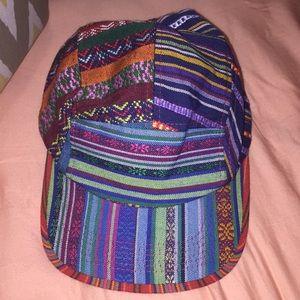 Tribal Print Skater Hat